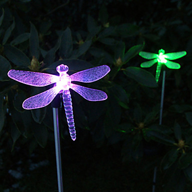 1pc Decoration Light Solar Rechargeable / Waterproof