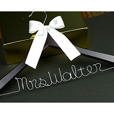 Wood Aluminum Alloy Creative Gift Bride Bridesmaid Flower Girl Couple Wedding Congratulations Thank You