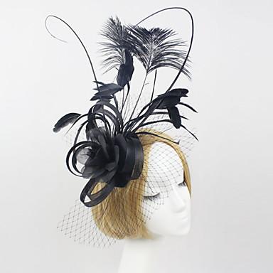 φτερό καθαροί γοητευτικό λουλούδια headpiece κλασικό θηλυκό στυλ