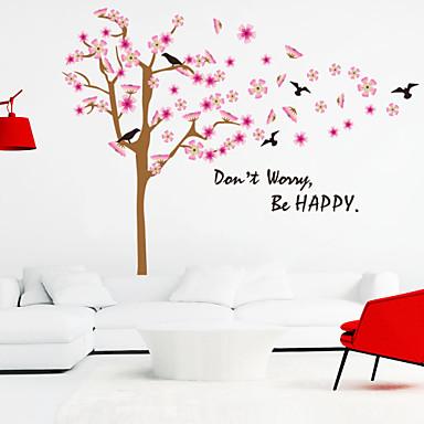 duvar çıkartmaları duvar çıkartmaları tarzı mutlu ingilizce kelime&pvc duvar çıkartmaları tırnak