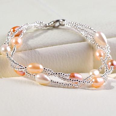 Damen Perle Perle Strang-Armbänder - Armbänder Für Hochzeit Party Alltag