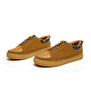 Men's Shoes Office & Career/Athletic/Casual Fashion Sneakers Black/Blue/Yellow