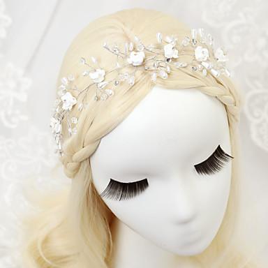 Imitação de Pérola Liga Headbands 1 Casamento Ocasião Especial Aniversário Festa / Noite Capacete