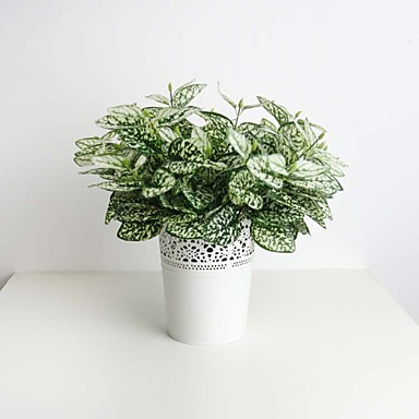 Κλαδί Μετάξι Πλαστικό Φυτά Λουλούδι για Τραπέζι Ψεύτικα λουλούδια
