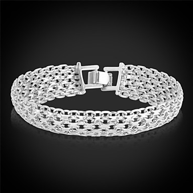 Women's Chunky Chain Bracelet / Bracelet - Platinum Plated, Gold Plated Fashion Bracelet Golden For Christmas Gifts / Wedding / Party