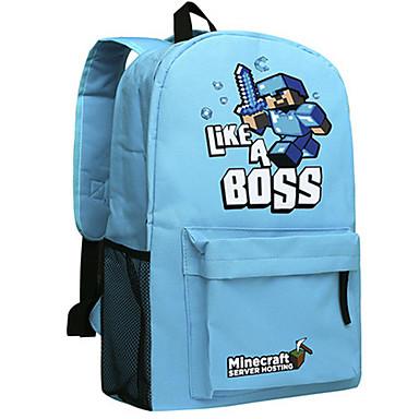 1616f4adfc7 ημέρα Minecraft σακίδιο enderman πακέτο σακίδιο νέα σχολική τσάντα νάιλον  παιχνίδι σακίδιο 045