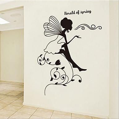 irrotettava pieni eläin talossa lastenhuone / makuuhuone seinä tarra