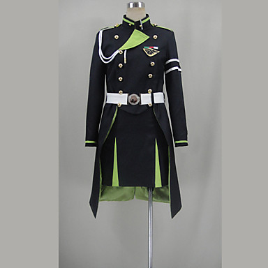Inspired by Seraph of the End Yukimi Anime Cosplay Costumes Cosplay Suits Patchwork Top Skirt More Accessories For Female