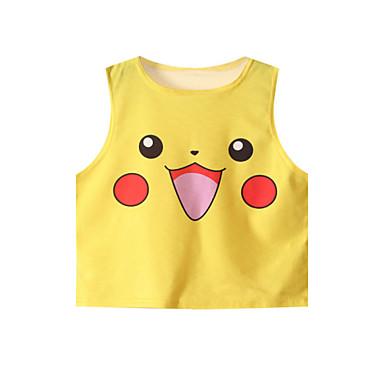 Women's Lovely Pikachu Crop Top