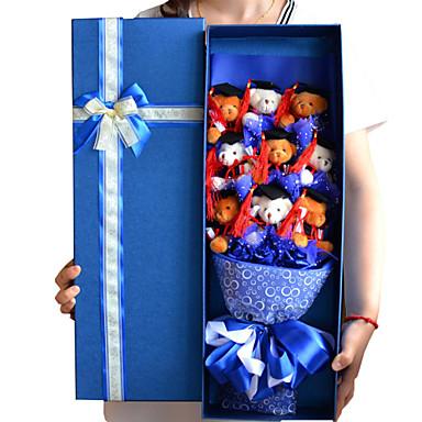 Dr. Bear Doll Gift Cartoon Bouquet Graduation Present