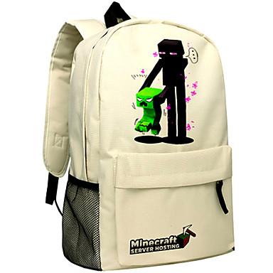 a66defafa77 ημέρα Minecraft σακίδιο enderman πακέτο σακίδιο νέα σχολική τσάντα νάιλον  παιχνίδι σακίδιο 044