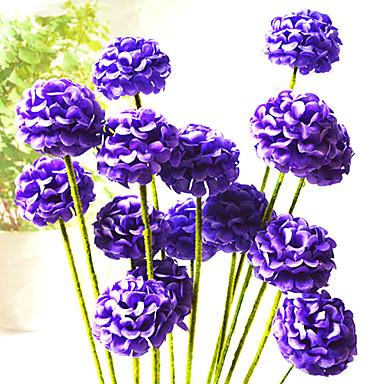 υψηλής ποιότητας τεχνητό λουλούδι φωτεινό χρώμα μετάξι λουλούδι για το γάμο και διακοσμητικά