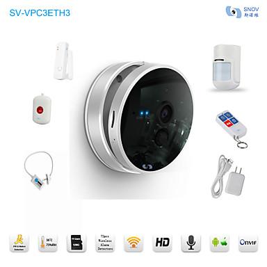 snov® HD WiFi ночного видения IP радионяня бизнес присутствует с 5штом беспроводных датчики сигнализации, К и приложение