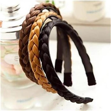 Forme de clip Accessoires pour cheveux Fibre chimique Perruques Accessoires Femme 1pcs pcs 10-20 cm 11-20cm cm Soirée Quotidien Boutique