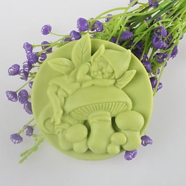sopp ånd formet såpe Form månekake Form  kake sjokolade silikon Form, dekorasjon verktøy bakeredskap
