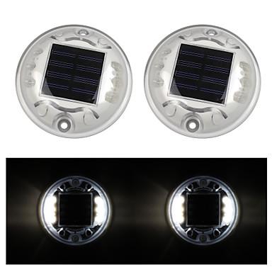 2pcs Dekorations Beleuchtung Solar Wiederaufladbar Wasserfest