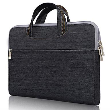 Sacs à Main pour Couleur Pleine Textile / Toile de jean MacBook Pro 13 pouces