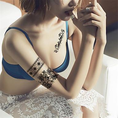 Αυτοκόλλητα Τατουάζ Άλλα Non Toxic Waterproof Γυναικεία Ενήλικες Εφηβικό Flash Tattoo προσωρινή Τατουάζ