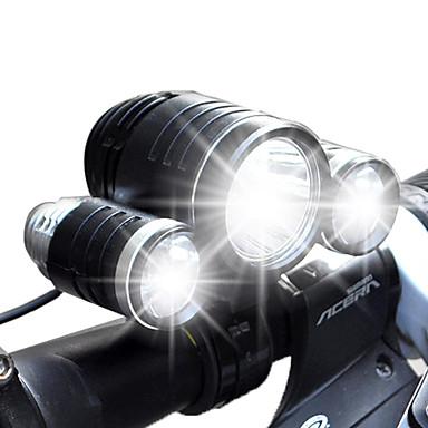 Pyöräilyvalot LED Lumenia 4.0 Tila Cree XM-L T6 Cree R2 Kyllä Ladattava Vedenkestävä varten Telttailu/Retkely/Luolailu Päivittäiskäyttöön