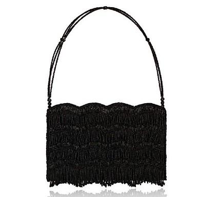 Γυναικείο Τσάντες Όλες οι εποχές Πολυεστέρας Βραδινή τσάντα για Causal Μαύρο Κόκκινο Μπλε
