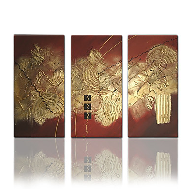 star®hand malowane wizualne abstrakcyjne nowoczesny olej płótno trzy panele