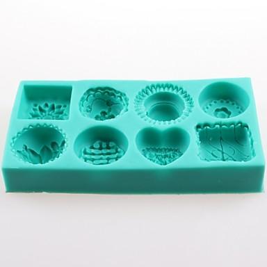 Cake Series Fondant Cake Chocolate Silicone Molds,Decoration Tools Bakeware