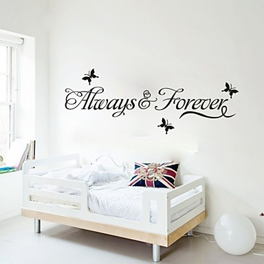 Animals Words & Quotes Wall Stickers Plane Wall Stickers Decorative Wall Stickers, Vinyl Home Decoration Wall Decal Wall