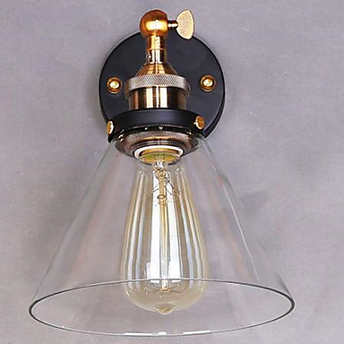 Ρουστίκ/Εξοχικό Λαμπτήρες τοίχου Για Μέταλλο Wall Light 110-120 V 220-240 V