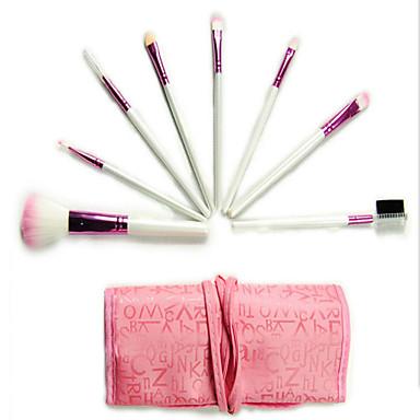 8pcs Makeup Brush Set Nylon Travel Eco-friendly Professional Wood Eye