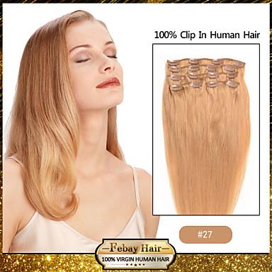 인간의 머리카락 확장 18