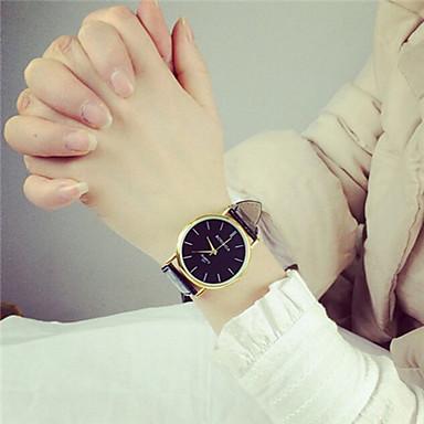 Męskie Zegarek na nadgarstek PU Pasmo Vintage Czarny Biały