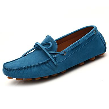 Синий / Коричневый / Зеленый / Серый Мужская обувь На каждый день Кожа Синий / Коричневый / Зеленый / Серый