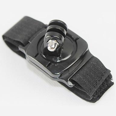 Sangle de Poignet Avec Bretelles Coque Etanche Coque Imperméable Rotation 360° Pour Caméra d'action Tous Xiaomi Camera Gopro 4 Black