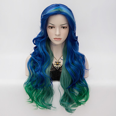 Synthetic Hair Wigs Wavy Capless Very Long