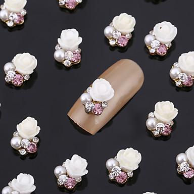 20 Κοσμήματα νυχιών Λουλούδι Αφηρημένο Κλασσικό Lovely Γάμος Πανκ Καθημερινά Λουλούδι Αφηρημένο Κλασσικό Lovely Γάμος Πανκ Υψηλή ποιότητα
