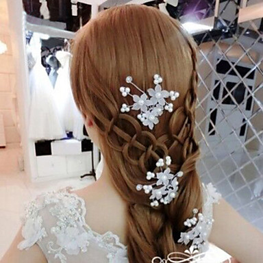 Alloy Hair Pin Headpiece Wedding Party Elegant Classical Feminine Style