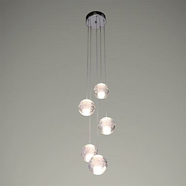 UMEI™ Pendant Light Ambient Light - Crystal LED, Modern / Contemporary, 90-240V, Warm White, Bulb Included