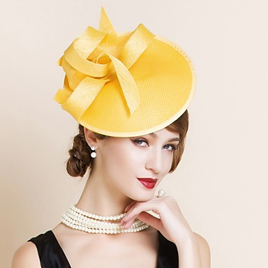 831d5702 Women's Flax Headpiece-Wedding Special Occasion Hats 1 Piece 4374188 ...