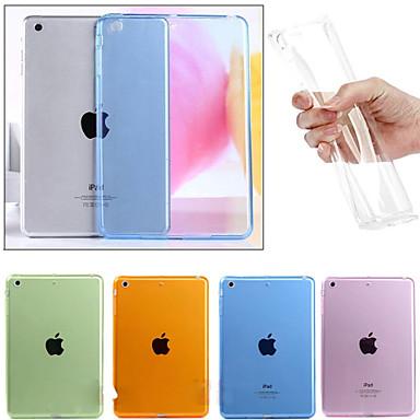 Case Kompatibilitás Apple Átlátszó Fekete tok Egyszínű TPU mert iPad Mini 3/2/1