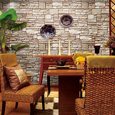 기하학 홈 벽지 콘템포라리 벽 취재 , PVC/Vinyl 자료 접착제가 필요 벽지 , 룸 Wallcovering 협력