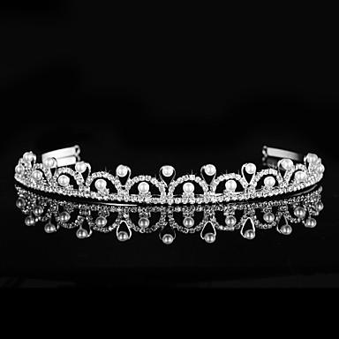 elmas taklidi tiaras baş bandı baş parçası klasik kadınsı stil