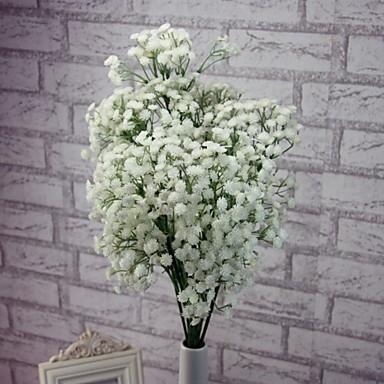 1 Gałąź Plastikowy Łyszczec Bukiety na stół Sztuczne Kwiaty
