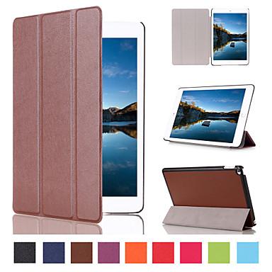 Case Kompatibilitás iPad Mini 4 iPad Mini 3/2/1 iPad 4/3/2 iPad Air 2 iPad Air Kártyatartó Állvánnyal Héjtok Látvány PU bőr mert iPad