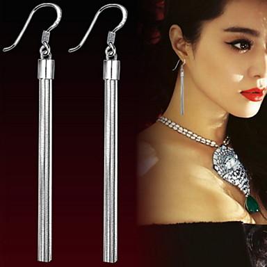 Earring Drop Earrings Jewelry Women Wedding / Daily / Casual Silver / Sterling Silver 2pcs