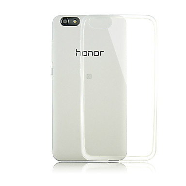 Case For Huawei Honor 4X Huawei Huawei Case Transparent Back Cover Solid Color Soft TPU for Huawei Honor 4X Huawei