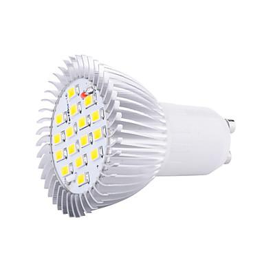 4W GU10 LED Spot Işıkları MR16 16 led SMD 5630 Dekorotif Sıcak Beyaz Serin Beyaz 3000/6500lm 3000K/6500KK AC 220-240V