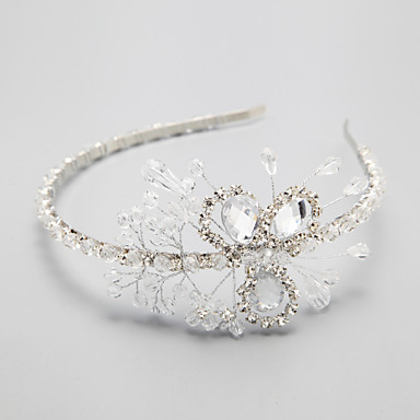 Kristal / Yapay Elmas / alaşım - Headbands 1 Düğün / Özel Anlar Başlık