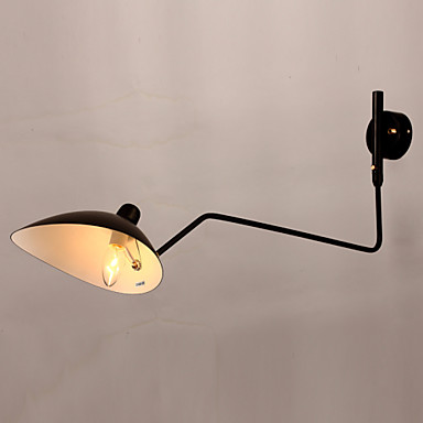 Duvar ışığı Aşağı Doğru Swing Kol Işıkları 40W 110-120V 220-240V E12 / E14 Geleneksel / Klasik Resim