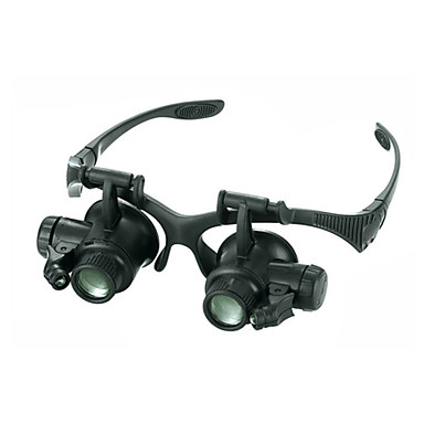 Monocular Magnifiers/Magnifier Glasses High Definition LED Headset/Eyewear Wide Angle Generic Fogproof Weather Resistant 20 25 Plastic