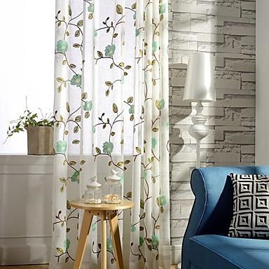 Ahşap Korniş Kısmı Kopça Deliği Üstü Çift Kaplamalı İki Panel Pencere Tedavi Ülke Modern , Boyama Yaprak Yatakodası Poli / Pamuk Karışımı